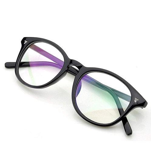 Optihuts Lightweight Full Rim Round Shape Unisex Spectacle Eyewear Frame (Medium