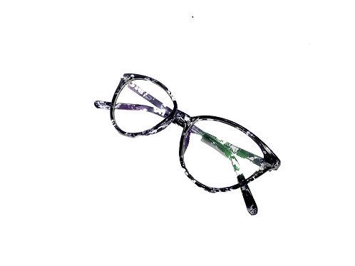 Optihuts Lightweight Full Rim Cat-Eye Shape Unisex Spectacle Eyewear Frame (Medi