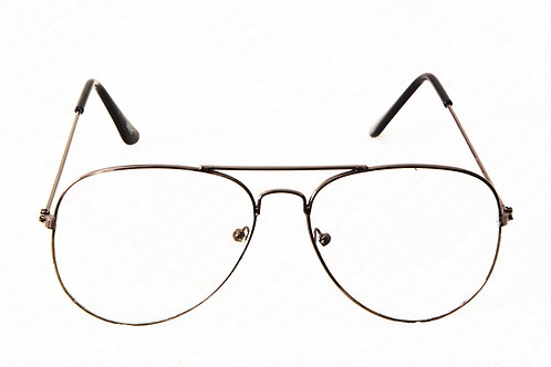 Optihuts Aviater Shape Unisex Eyewear Spectacle Eye Frame Eyeglasses for Men and