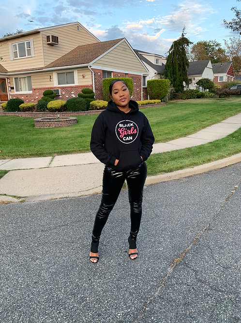 Black Girls Can Unisex Hoodie