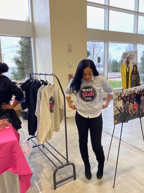 Black Girls Can Crewneck Sweatshirt