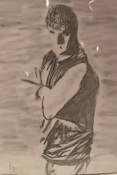 Jonny D signed drawing
