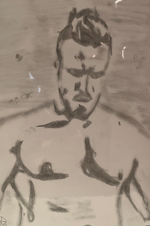 Tyler Tirva signed drawing