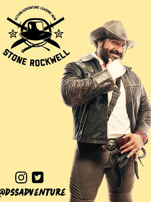 Stone Rockwell signed 8 x 10