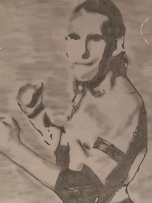Rip Impact signed drawing