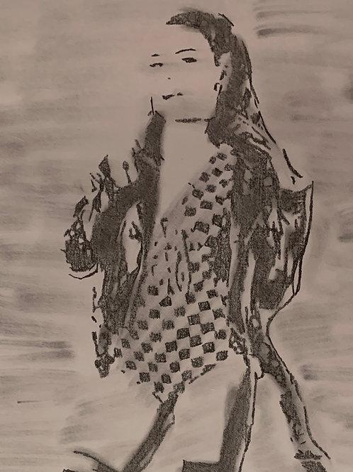 Krystal Moon drawing