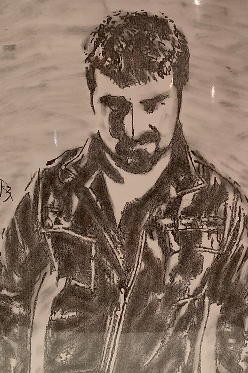 Clay Wilson signed drawing