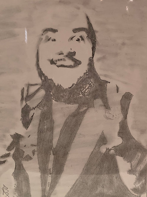 Puf signed drawing