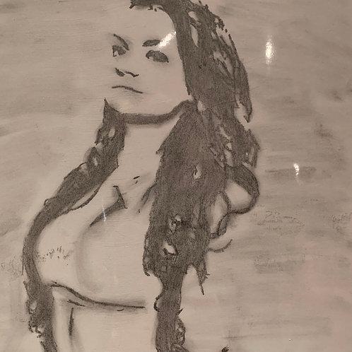 Alexia Nicole drawing