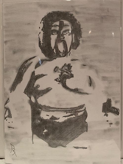 Kongo Kong drawing