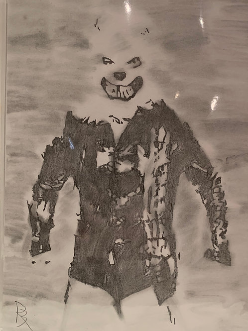 Holden Albright signed drawing