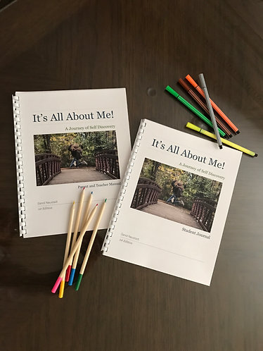 Parent and Teacher Manual~ It's All About Me! Created to Create