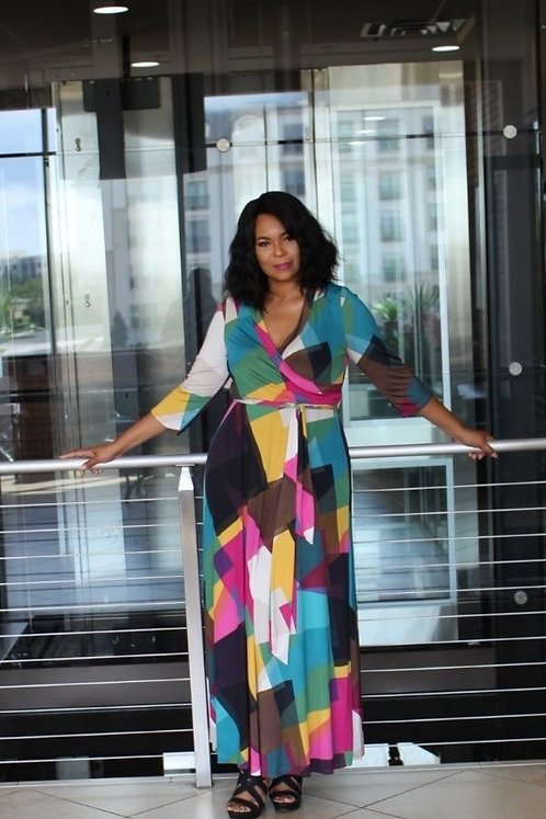 LaSonya's Multicolor Dress