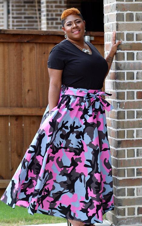 Camouflauge Skirt