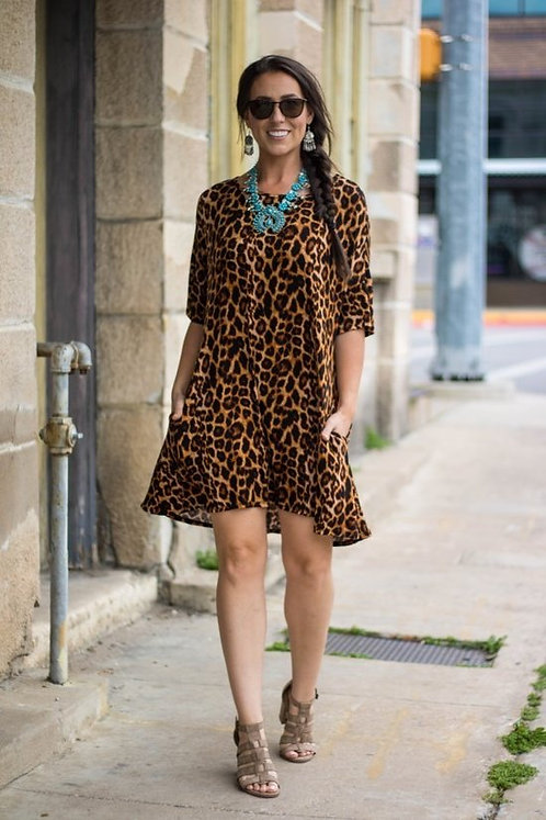Amber Print tunic top/Dress