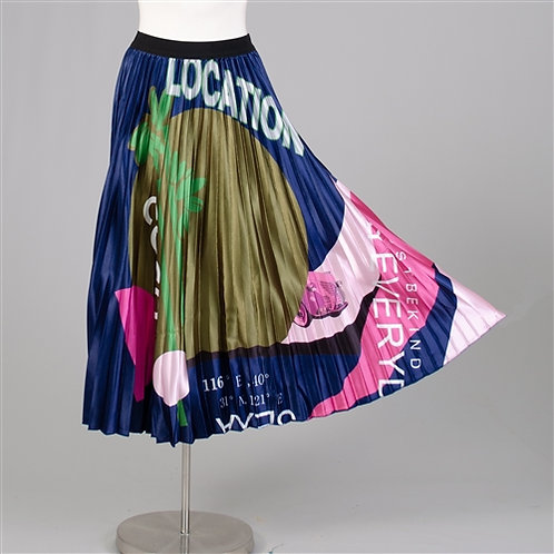 Pleated Lined COCO Skirt