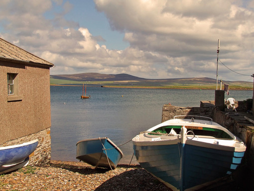 This was taken in Orkney, an island off the northern coast of the Scottish mainland. The light in this region is always stunning. It has a direct, bright and clear quality to it.