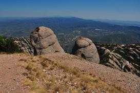 View from Montserrat, Catalunya