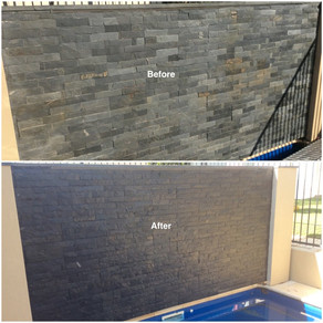 Natural Stone Protection With A 'Two-In-One' Enhancing Sealer