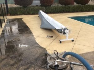 How To Pressure Clean The Pavers Around Your Swimming Pool Without Getting The Pool Water Dirty