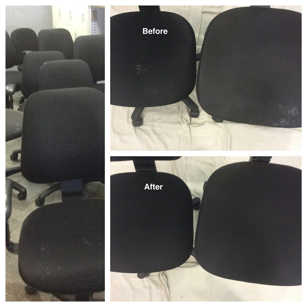ProtectorClean specialises in office chair cleaning