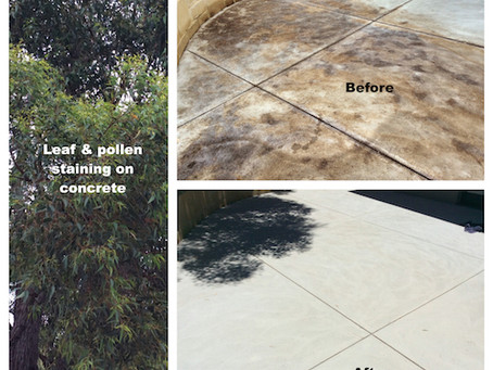 Heavy Duty Stain Removal From Concrete