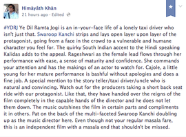 Yeh DIl Ramta Jogi Review