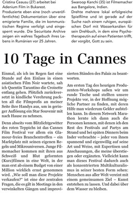 10 Days in Cannes