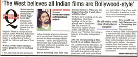 Times of India interviews