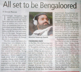 21st oct-2009-Bangalore Mirror.JPG