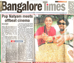 Bangalore Times Front Page