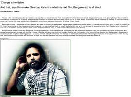 Changing times- Swaroop Kanchi