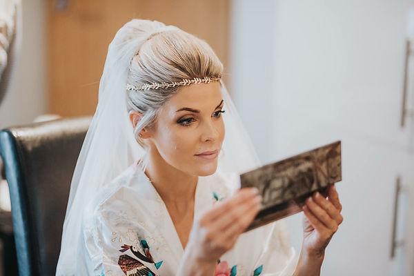 Jessica on her wedding day