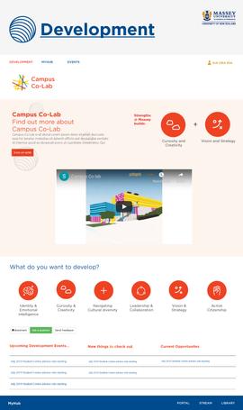 My Hub Development Website Prototype