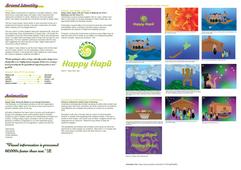 Happy Hapū Brand Identity & Animation Story Board
