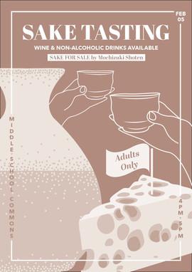 Sake Tasting Poster 2020