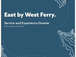 East by West Ferry client proposal to enhance their services (2019)