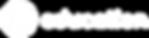 Lacuna Education Logo White (Clear Backg