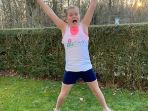 Super Emily exceeded her challenge to run 84K during February & raised over £2,270 with gift aid !!!