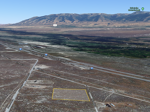 2.27 Acre Property with Power right off I-80 in Deeth, Nevada