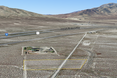 1.1-Acre Property with Power Near I-80 in Mill City, Nevada