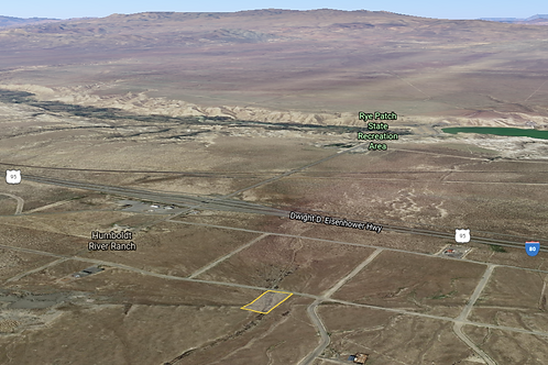 1.5 Acre on Pyramid Lake Road in Rye Patch Ranches in Lovelock, Nevada