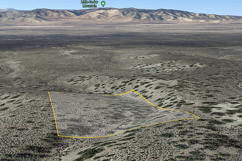 Rural, 3.75-Acre Property at the base of a Mountain Range in Elko County, Nevada