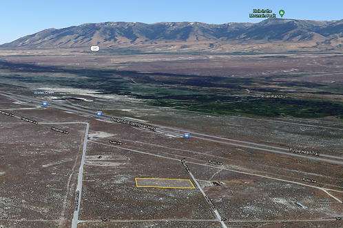 1.13 Acre Property with Power right off I-80 in Deeth, Nevada