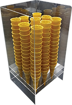 9 Hole open cone holder.png