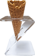 Perspex - 1-hole cone holder.png