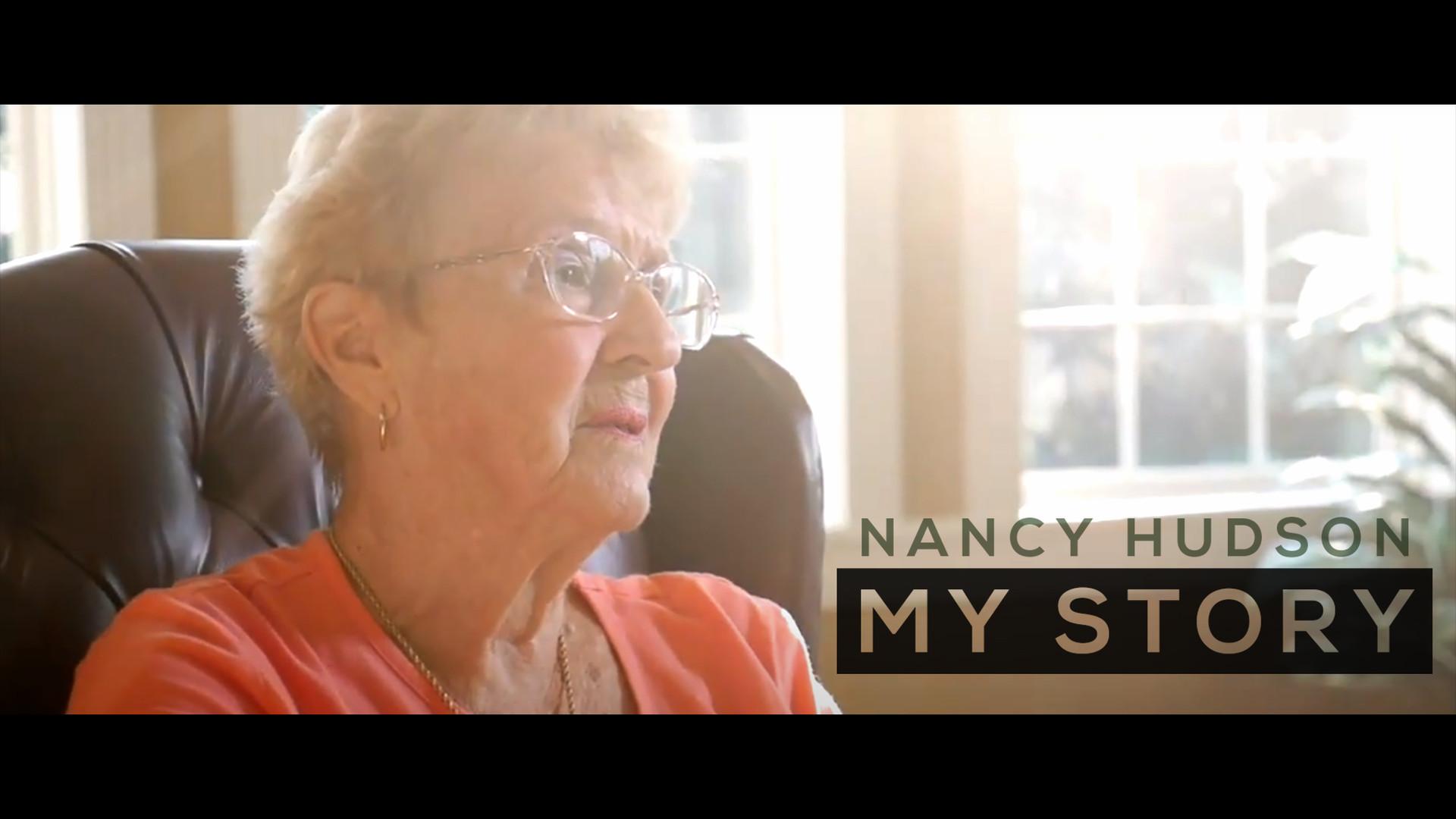 Nancy Hudson: My Story