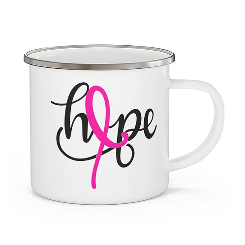 Hope - Breast Cancer Awareness Coffee Tea Cup | Hope Mug 12 oz