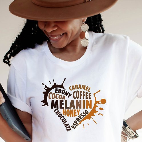 Melanin Shirt | Black Queen | Black Girl Magic T-Shirt