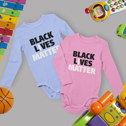 Black Lives Matter Kids Shirt   Baby Clothing   Infant Long Sleeve Bodysuit